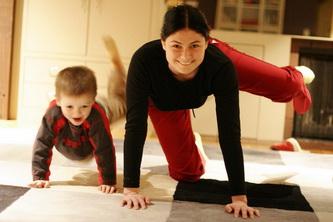 Активные мамы — активные дети